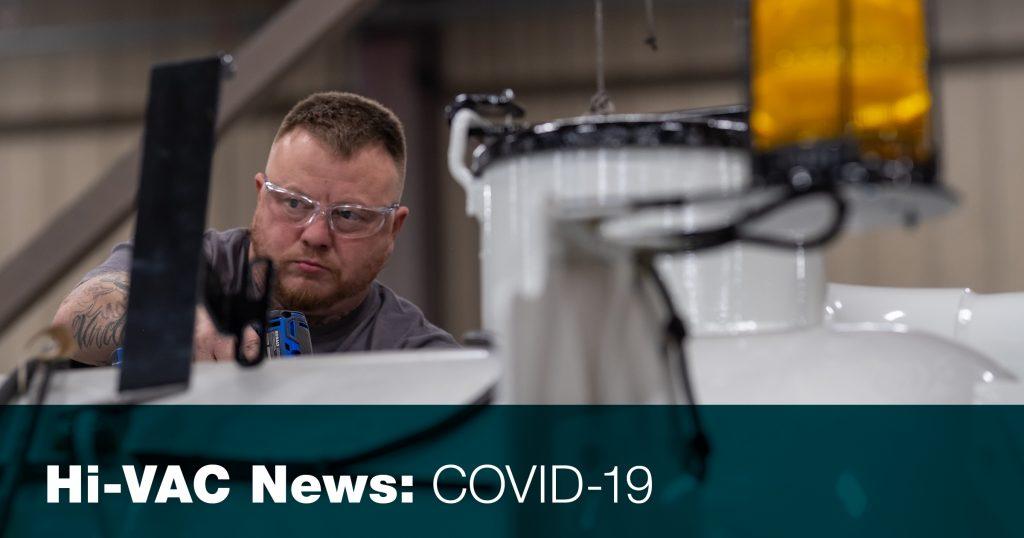 Hi-Vac Covid 19 response
