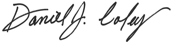 Dan Coley Signature